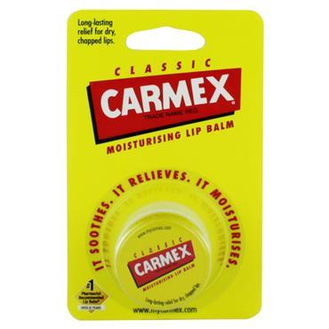 Carmex Classic Pot Moisturising Lip Balm 7.5g