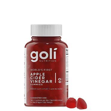 Goli Apple Cider Vinegar Gummies 60 Pack