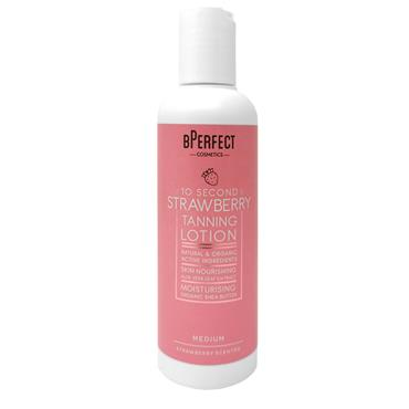 BPerfect 10 Second Strawberry Tanning Lotion Medium 200ml