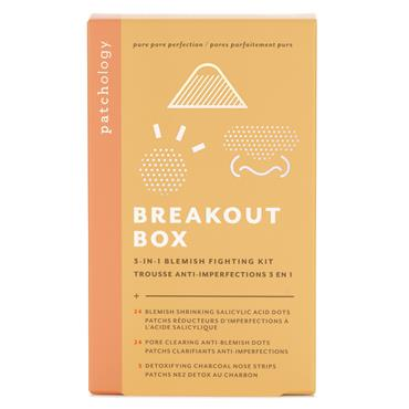 Patchology Breakout Box 3 In 1 Acne Treatment Kit