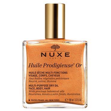 Nuxe Huile Prodigieuse Multi Purpose Dry Oil Golden Shimmer 100ml
