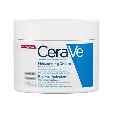 CeraVe Moisturising Cream Dry to Very Dry Skin 340g