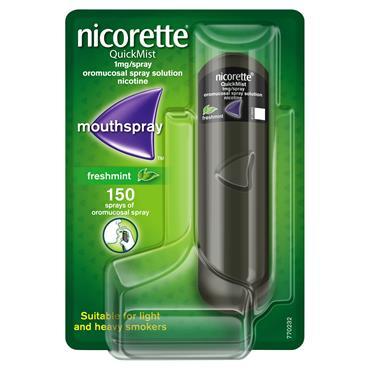 Nicorette QuickMist Freshmint 1mg Spray