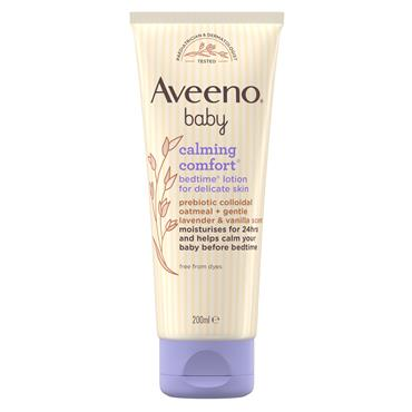 Aveeno Baby Calming Comfort Bedtime Lotion For Delicate Skin 200ml