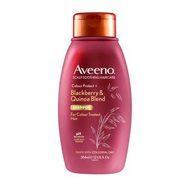 Aveeno Colour Protect Blackberry & Quinoa Blend Shampoo For Colour Treated Hair 354ml