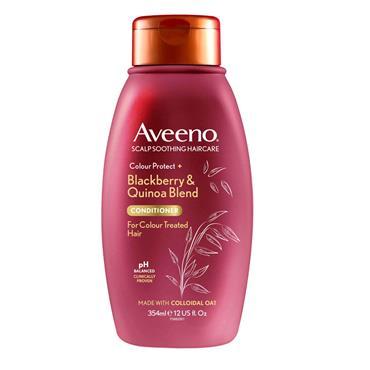Aveeno Colour Protect Blackberry & Quinoa Blend Conditioner For Colour Treated Hair 354ml