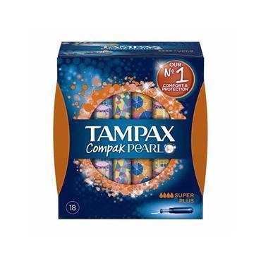 Tampax Compak Pearl Super Plus 18 Pack