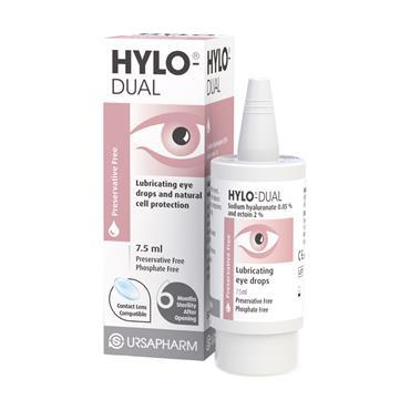 Hylo-Dual Preservative Free Eye Drops 7.5ml
