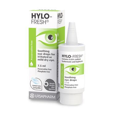 Hylo-Fresh Preservative Free Eye Drops 7.5ml