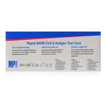 Rapid SARS-CoV-2  Antigen Self Test Card
