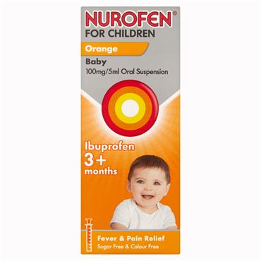 Nurofen For Children 3months+ Orange 150ml