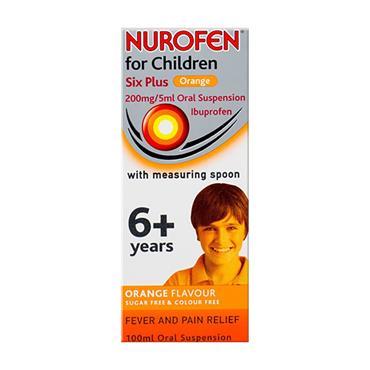 Nurofen For Children 6+ Orange 100ml
