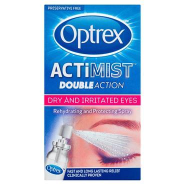 Optrex Actimist Double Action Spray Dry & Irritated Eyes 10ml
