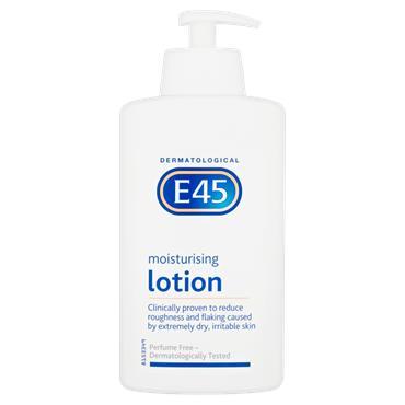 E45 Moisturising Lotion Pump 500ml