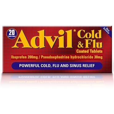 Advil Cold & Flu Tablets 20 Pack