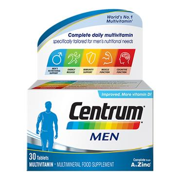 Centrum Men Multivitamins 30 Pack