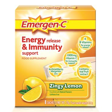 Emergen-C Zingy Lemon 8 Pack