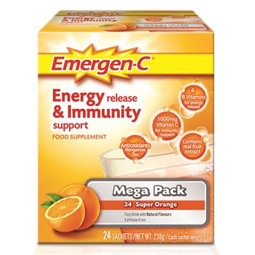 Emergen-C Super Orange 24 Pack