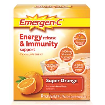 Emergen-C Super Orange 8 Pack