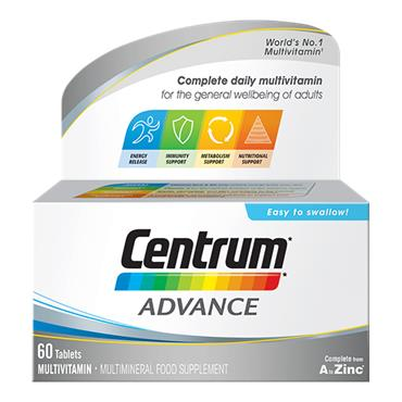 Centrum Advance Multivitamins 60 Pack