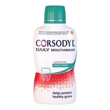 Corsodyl Daily Mouthwash Freshmint 500ml