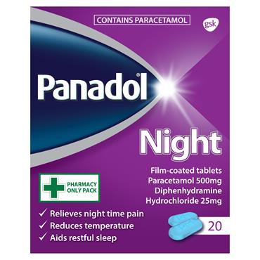 Panadol Night Tablets 20 Pack