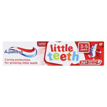 Aquafresh Little teeth Toothpaste 3-5years 50ml