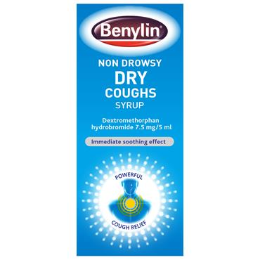Benylin Dry Cough Syrup Non-Drowsy 125ml