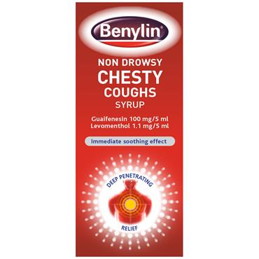 Benylin Chesty Cough Syrup Non-Drowsy 125ml