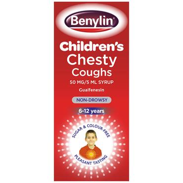 Benylin Children's Chesty Cough Syrup Non-Drowsy 125ml