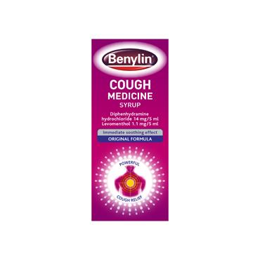 Benylin Original Cough Medicine Syrup 125ml