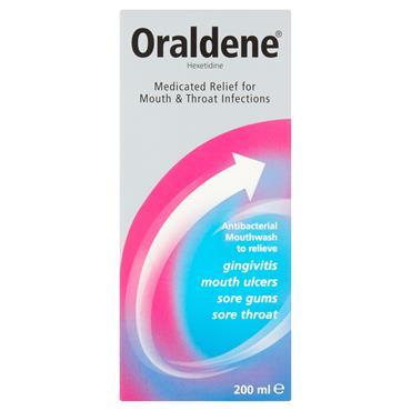 Oraldene Antibacterial Mouthwash Original 200ml