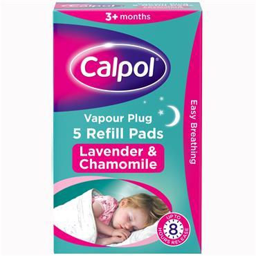 Calpol Vapour Plug Refill Pads 5 Pack