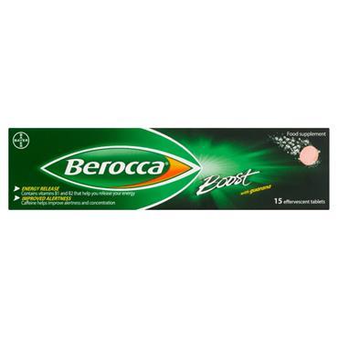 Berocca Boost Effervescent Tablets 15 Pack