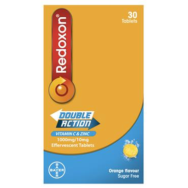 Redoxon Double Action Effervescent Tablets 30 Tablets