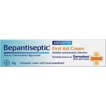 Bepantiseptic Antiseptic First Aid Cream 55g