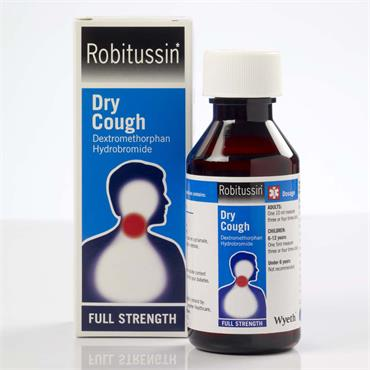 Robitussin Dry Cough Dextromethorpan Oral Solution 100ml