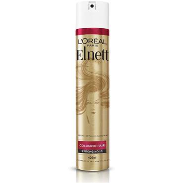 L'Oreal Paris Elnett Coloured Hair Strong Hold Hairspray 200ml
