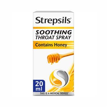Strepsils Honey & Lemon Soothing Throat Spray 20ml