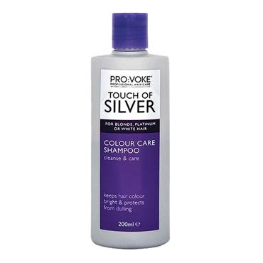 ProVoke Touch Of Silver Daily Colour Care Shampoo 200ml