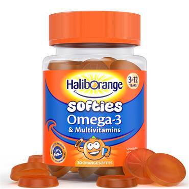 Haliborange Softies Omega 3 & Multivitamins 30 Pack