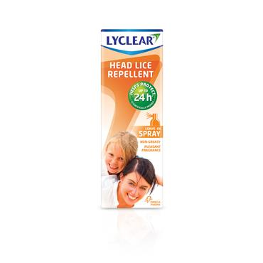Lyclear Head Lice Repellent Spray 100ml