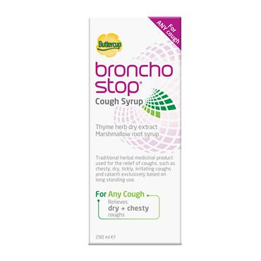 Buttercup Broncho Stop Cough Syrup 290ml