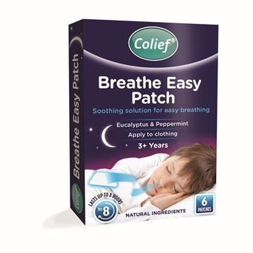 Colief Breathe Easy Patch 3+ years 6 Pack
