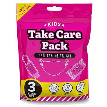 Kids On The Go Take Care Pack Pink