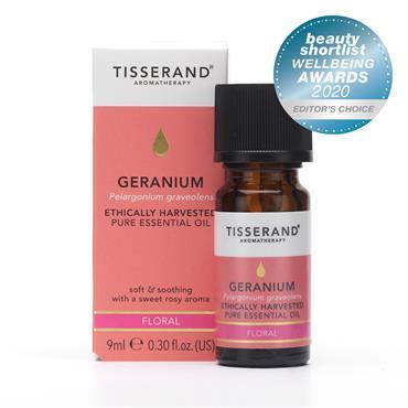 Tisserand Geranium Pure Essential Oil 9ml
