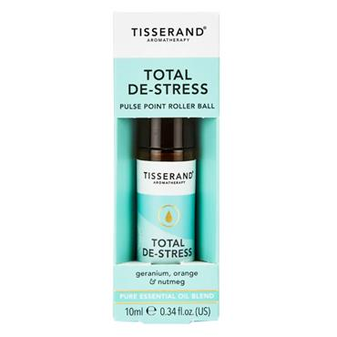Tisserand Total De-Stress Pulse Point Roller Ball 10ml