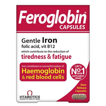 Vitabiotics Feroglobin B12 Capsules 30 Pack