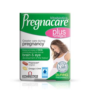Vitabiotics Pregnacare Plus Omega-3 Dual Pack 56 Tablets/Capsules
