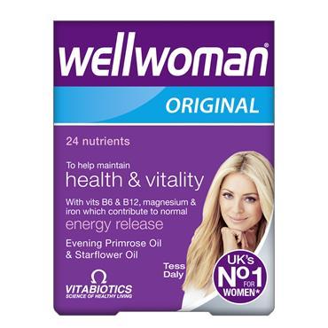 Vitabiotics Wellwoman Original Capsules 30 Pack